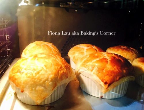 Chicken Pot Pie With Ready Puff Pastry – by Fiona Lau