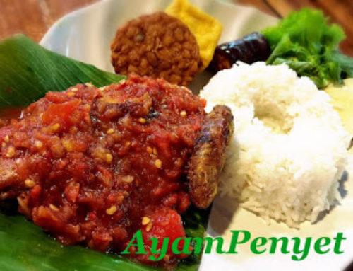 AYAM PENYET Indonesian – by Tannia Wong