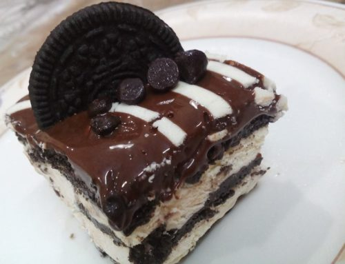 No bake chocolate eclair cake – by Sumaiya Khalid