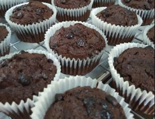 Double Chocolate Chip Muffins – by Ng Mee Teng