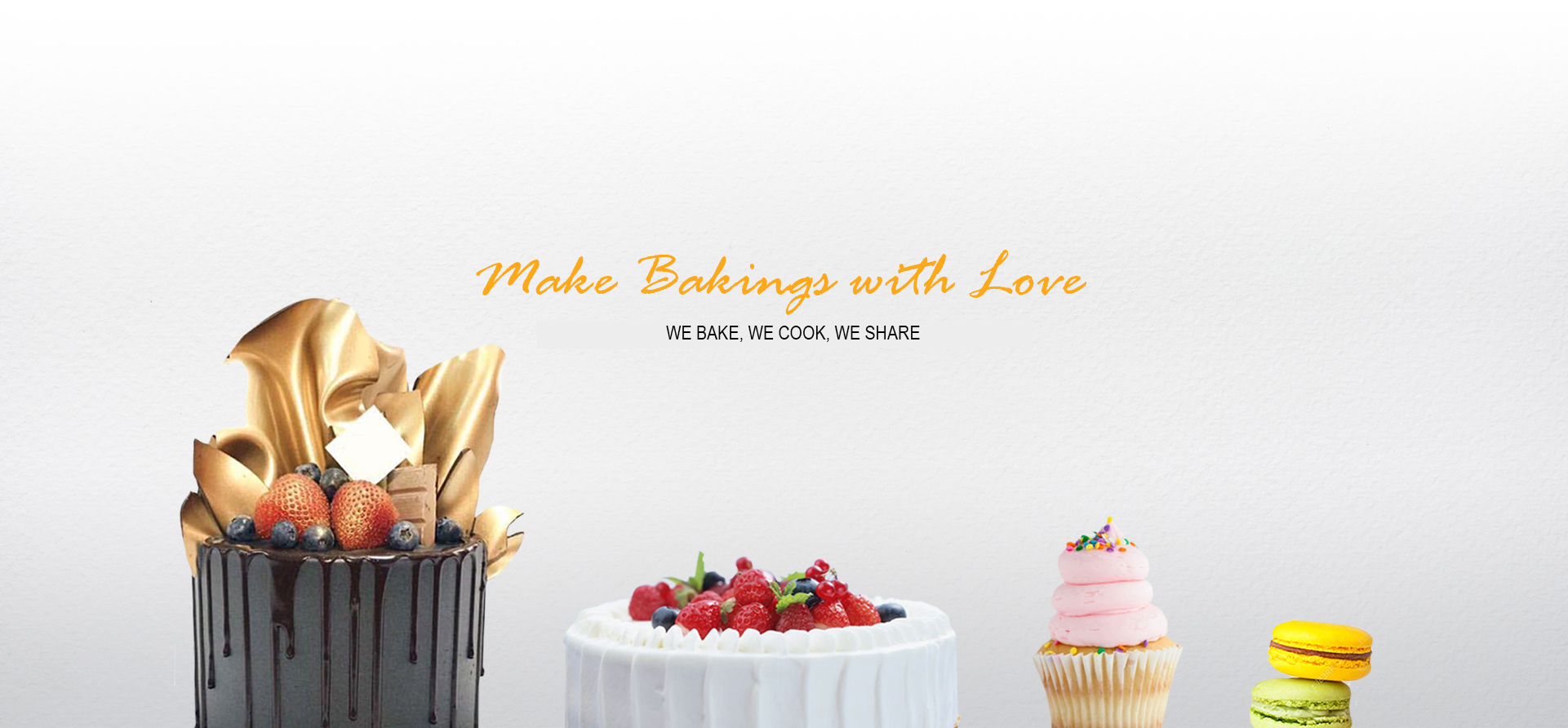 We Bake, We Cook, We Share!