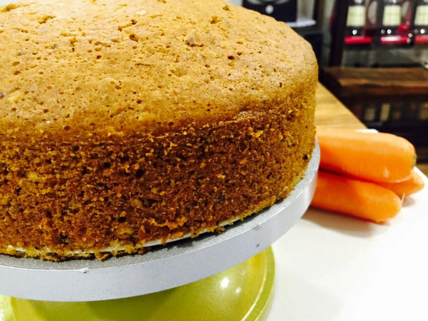 Super Moist Carrot Cake – By Fiona Lau