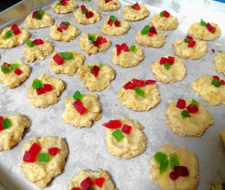 Cornflakes Cookies – by Lucinda Lau